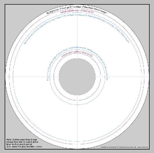 cd design template