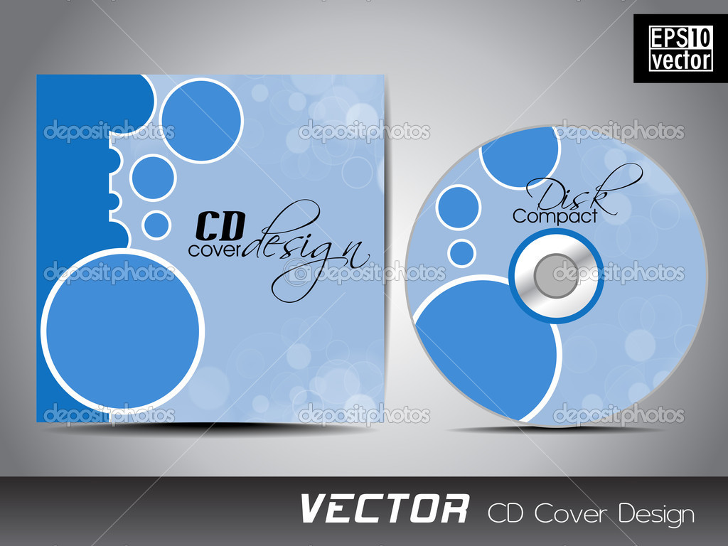 Creative part of my brand identity – CD case/CD | Veronika ...
