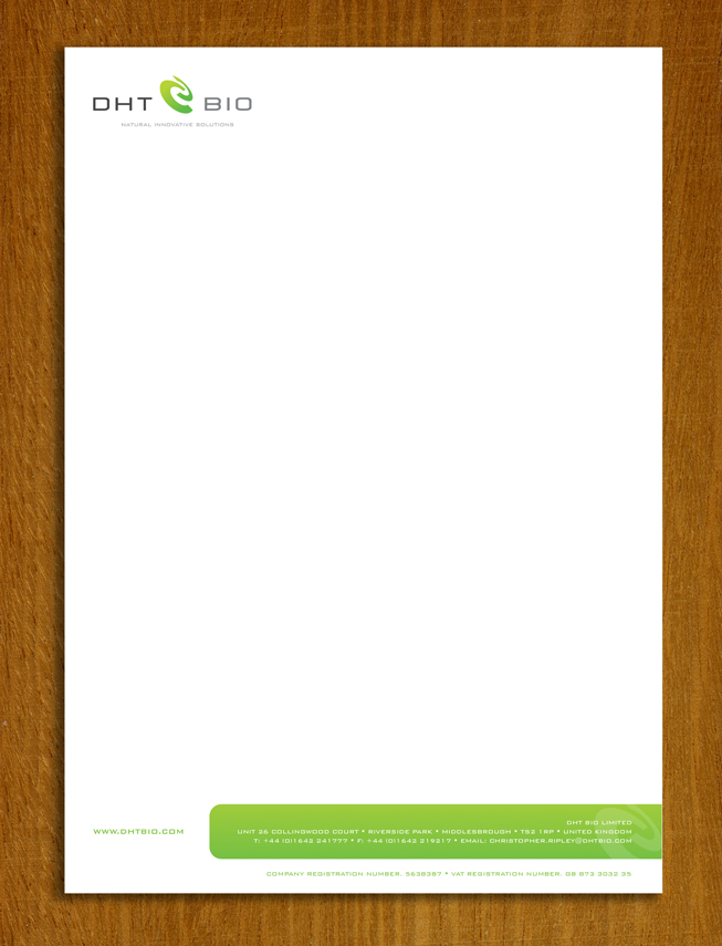 letterhead design uk